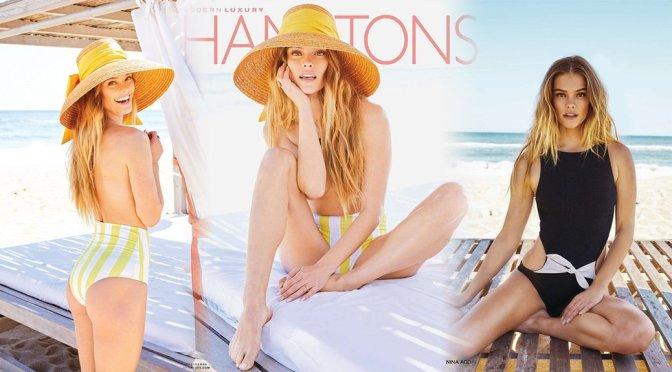Nina Agdal – Hamptons Magazine Photoshoot (July 2019)