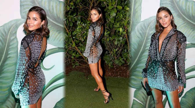Olivia Culpo – Legends Spirits Celebrates The Swim Week Kick-Off Party in Miami