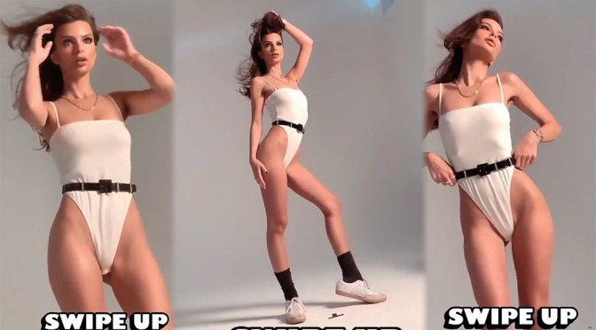 Emily Ratajkowski – Sexy Photoshoot Candids Video