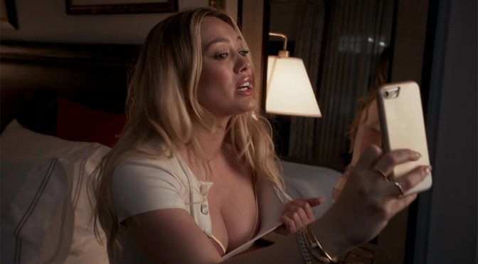 "Hilary Duff - ""Younger"" Sexy Boobs Selfie Video"