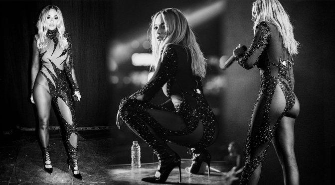 Rita Ora – Sexy Lycra Outfit Photoshoot