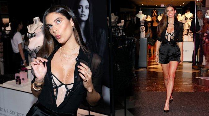 Sara Sampaio – Victoria's Secret Debuts New Fall Collection in Chicago