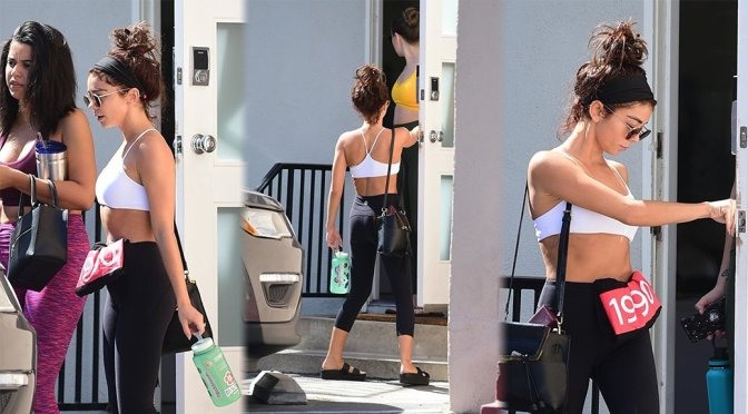 Sarah Hyland – Sexy Candids at the Gym in Los Angeles