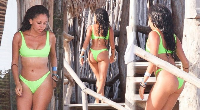 Vanessa Morgan Sexy Ass In A Bikini