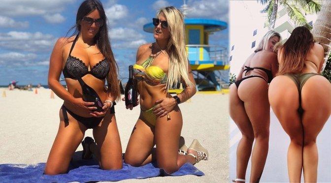 Claudia Romani  – Bikini Photoshoot for Passerina 50 Shades wine by Casa vinicola Silvestroni