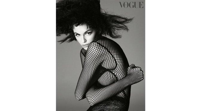 Kaia Gerber – Vogue UK Magazine Sexy Photoshoot (October 2019)