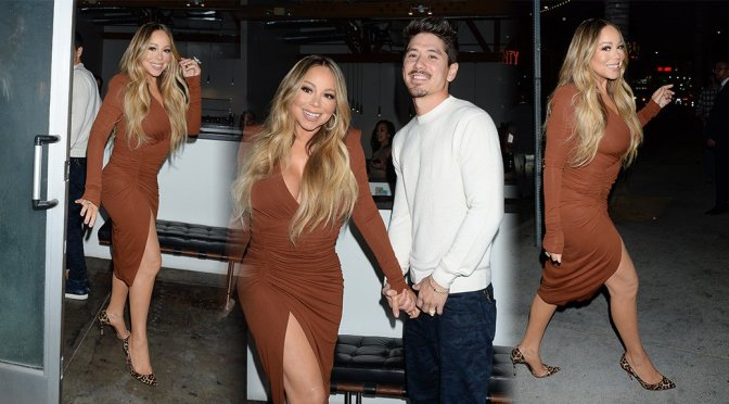 Mariah Carey – Sexy Candids in Hollywood
