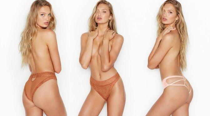 Romee Strijd – Victoria's Secret Lingerie Photoshoot