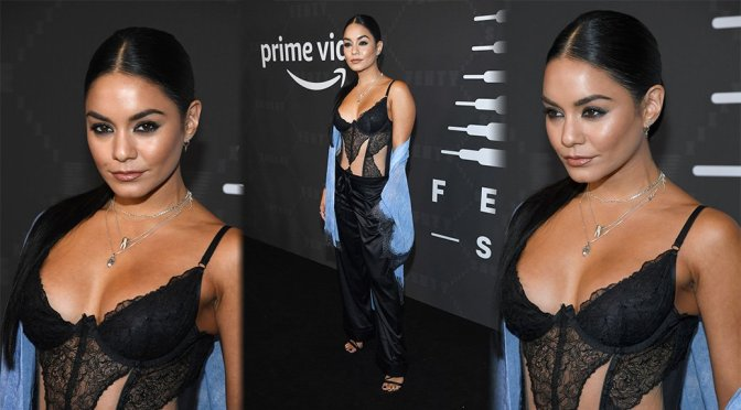 Vanessa Hudgens – Savage X Fenty Show Presented By Amazon Prime Video in Brooklyn