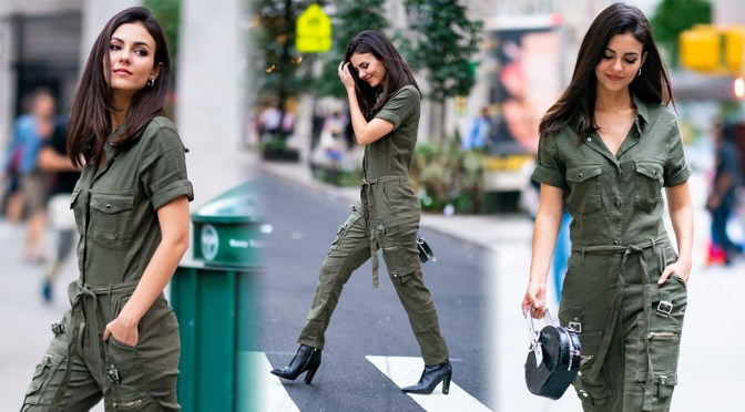 Victoria Justice – Sexy Candids in New York City