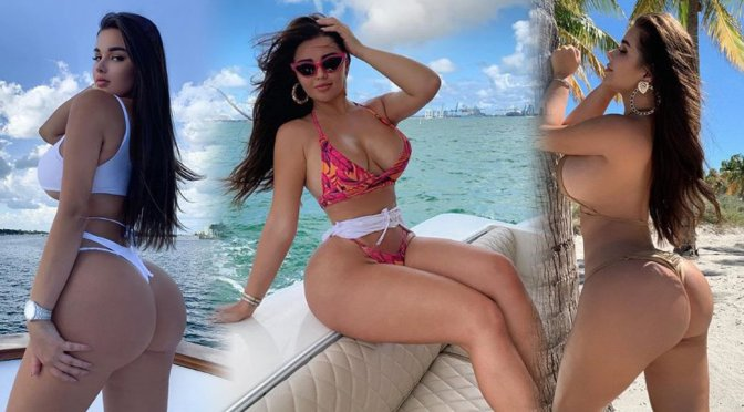 Anastasia Kvitko – Big Boobs in Sexy Bikini Photoshoot