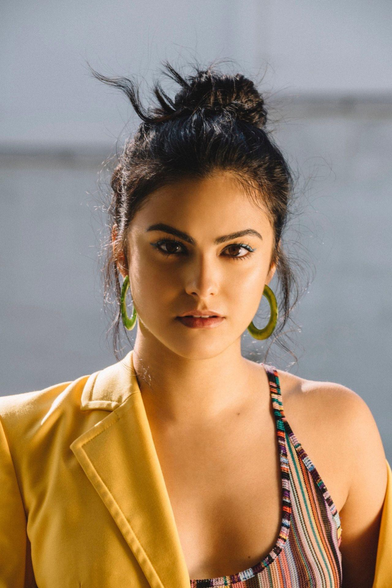 Camila Mendes - Nylon Magazine Braless See-Through