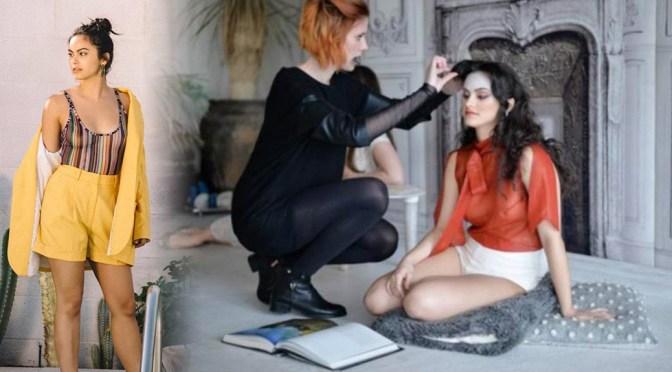 Camila Mendes – Nylon Magazine Braless See-Through Photoshoot