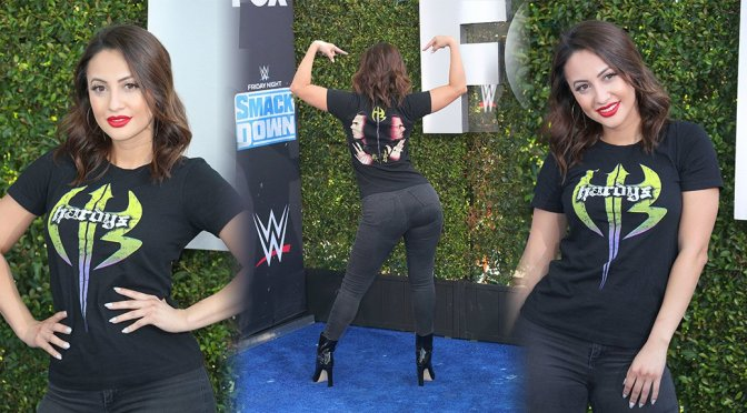 Francia Raisa Sexy Big Ass In Tight Jeans