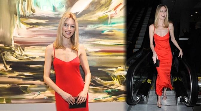 Martha Hunt – Academy Of Arts Take Home A Nude Art Party & Auction