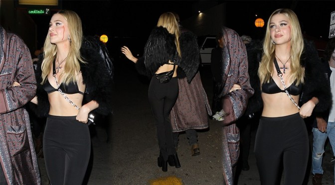 """Nicola Peltz – Drake's Birthday Party at """"Delilah"""" in West Hollywood"""