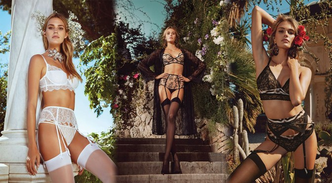 Noel Berry – Vogue Russia Lingerie Summer Collection Photoshoot