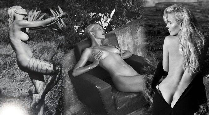 Simona Krainova – 2020 Calendar Topless Photoshoot by Lukas Dvorak (NSFW)