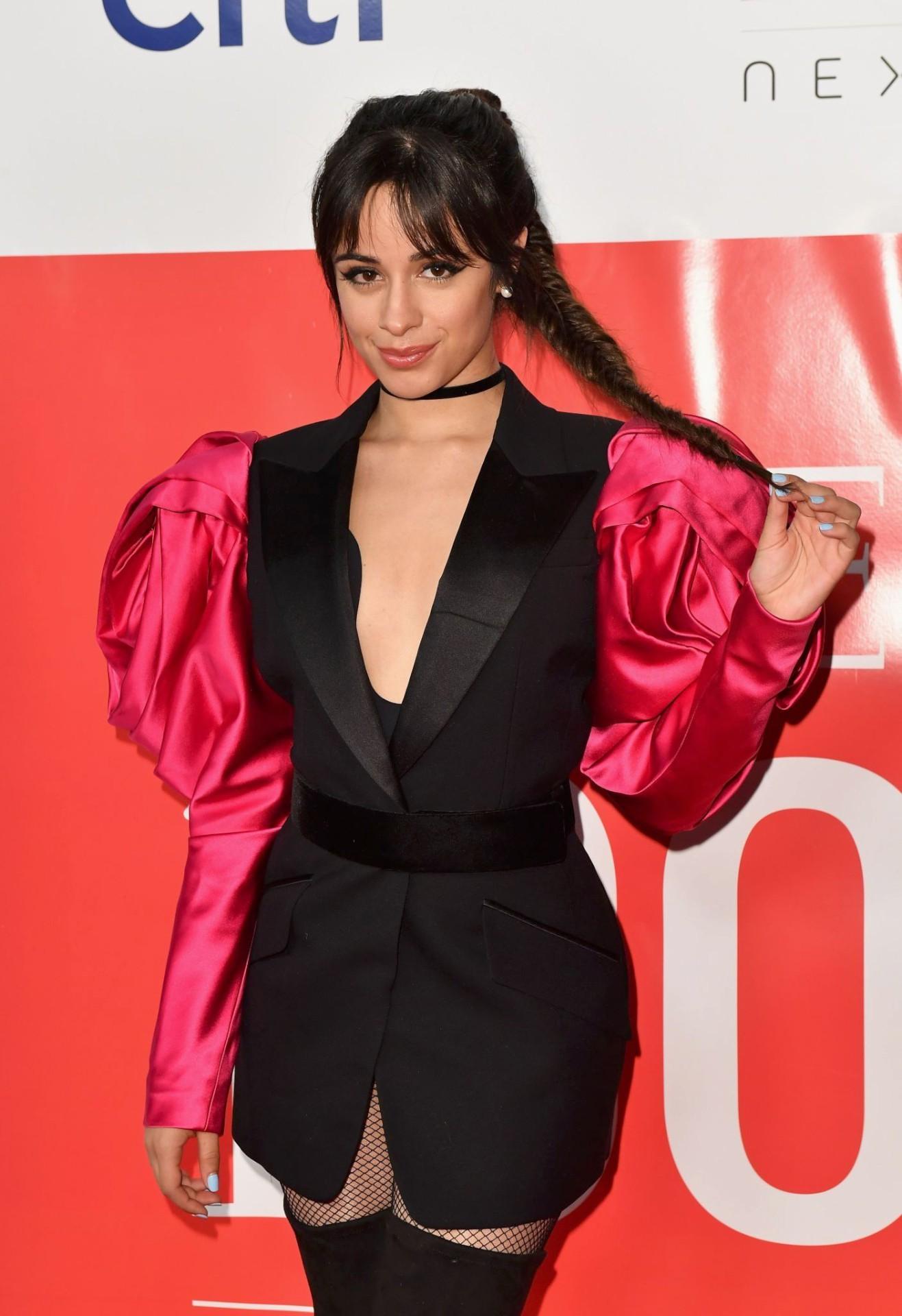 Camila Cabello Sexy Black Boots