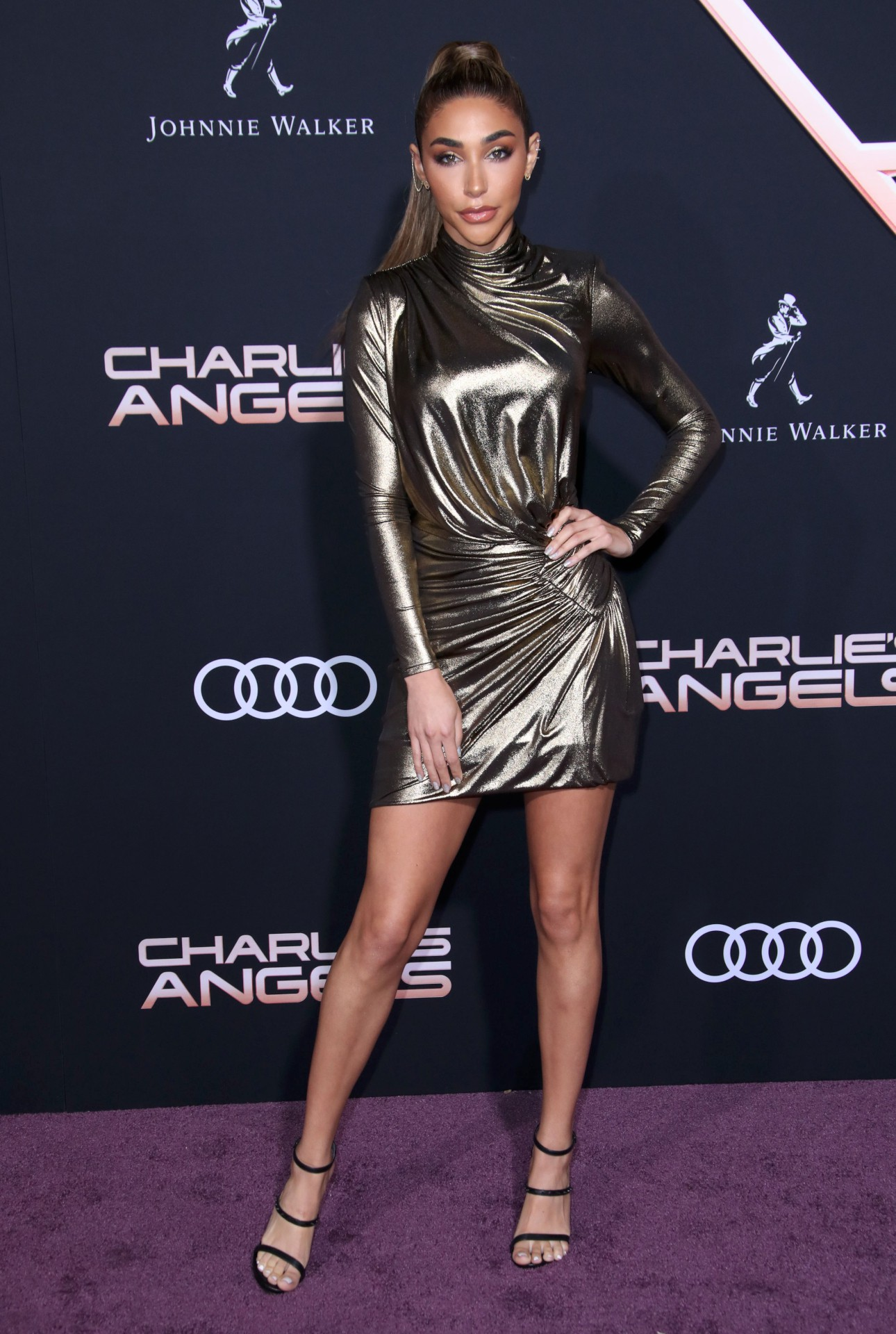 Chantel Jeffries Sexy Legs