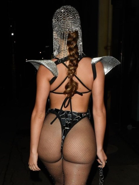 Demi Rose Mawby Sexy Ass In Thong