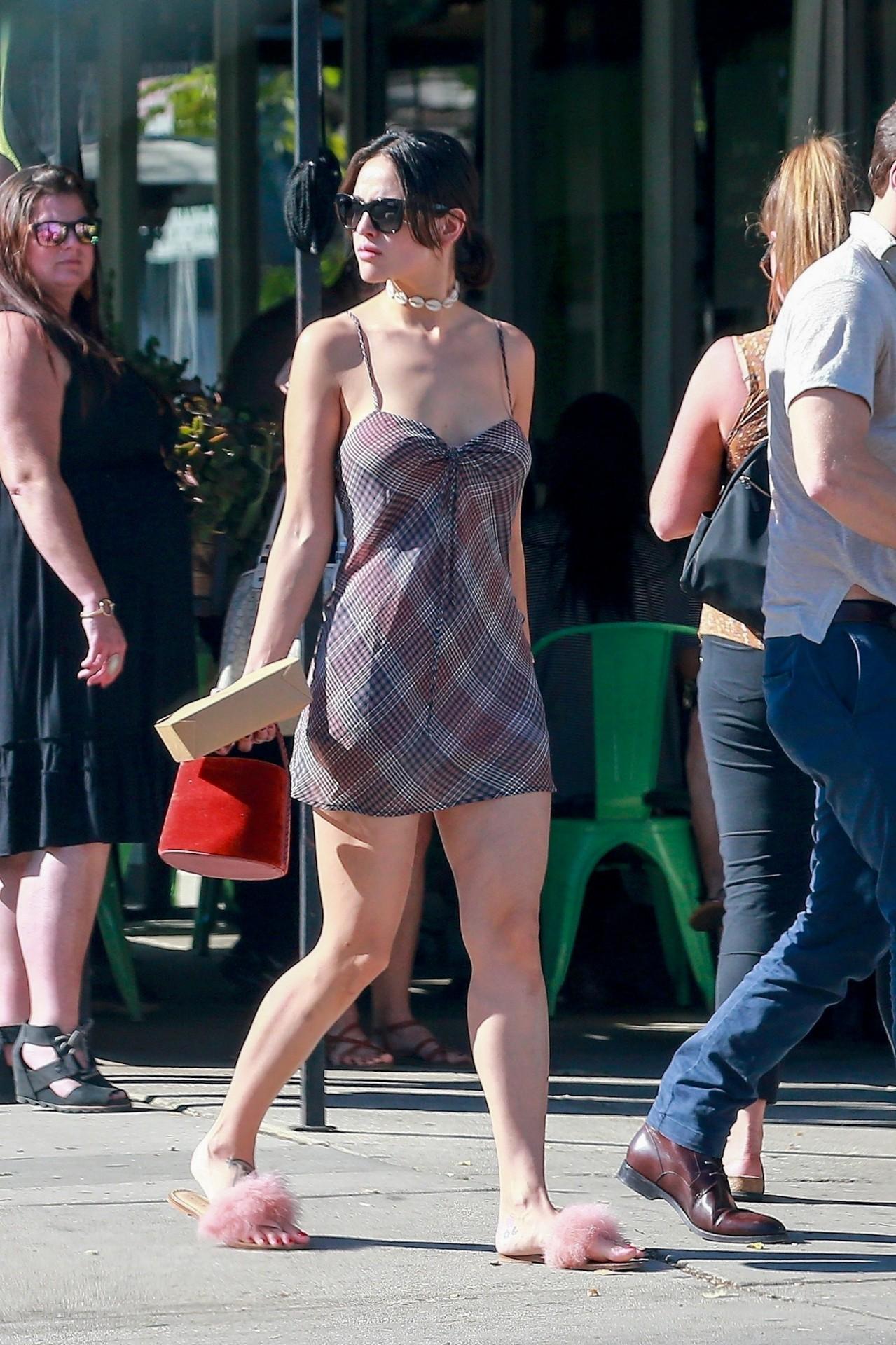 Eiza Gonzalez Sexy Summer Dress