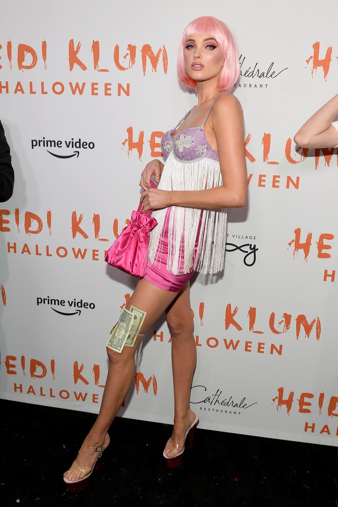 Elsa Hosk Sexy Halloween Outfit