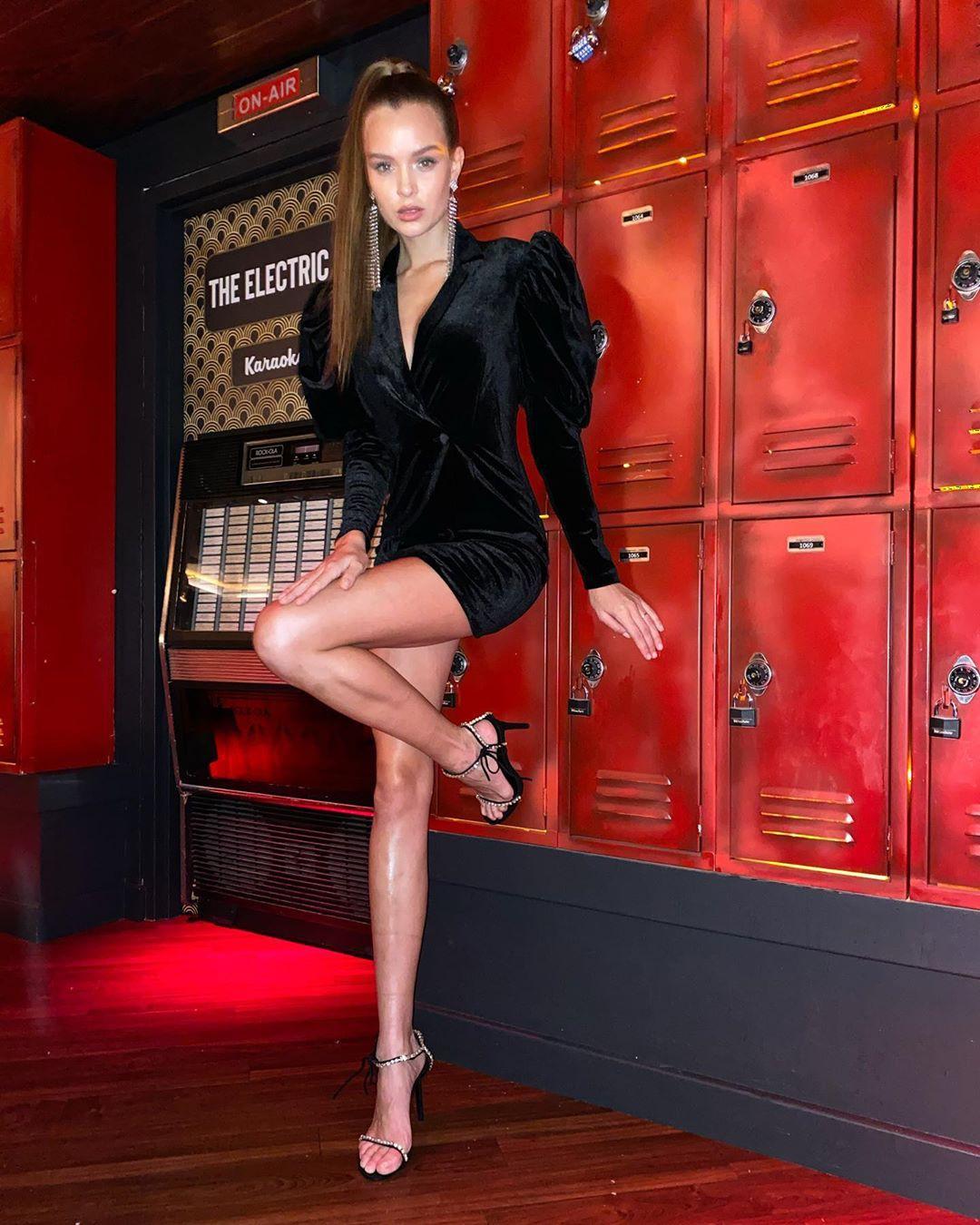 Josephine Skriver Hot Long Legs