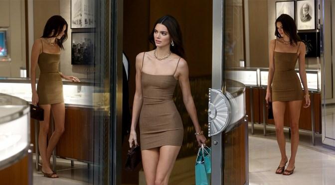 Kendall Jenner Sexy Long Legs
