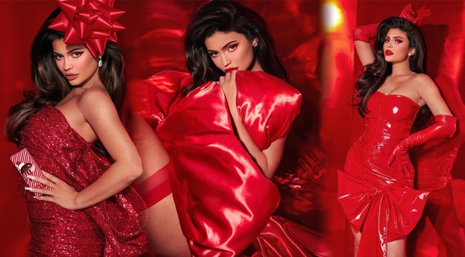 Kylie Jenner Sexy In Red