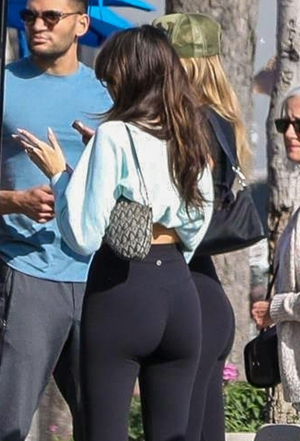 Madison Beer Sexy In Leggings