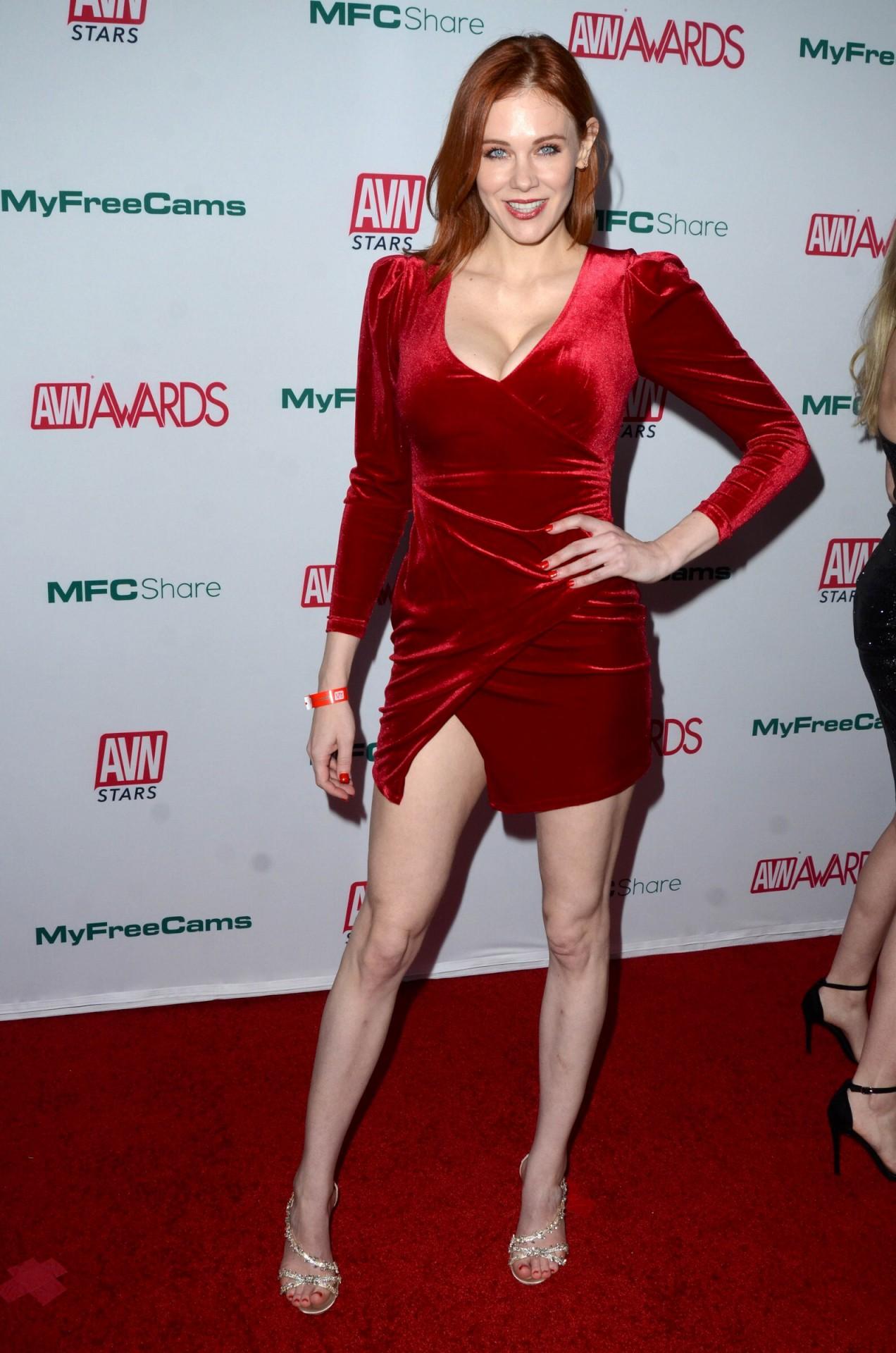 Maitland Ward Sexy Red Dress