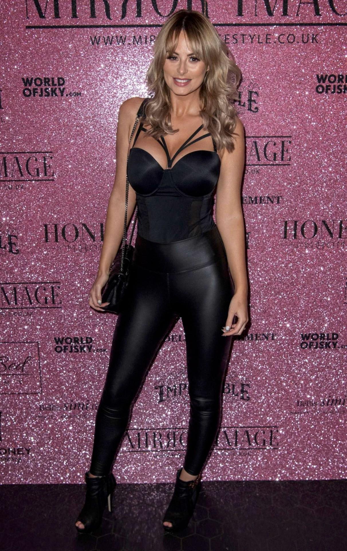 Rhian Sugden - Big Boobs at Mirror-Image Fashion Event in