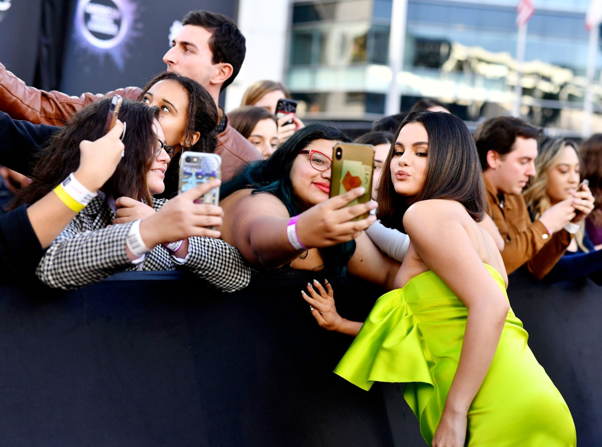 Selena Gomez Sexy Cleavage