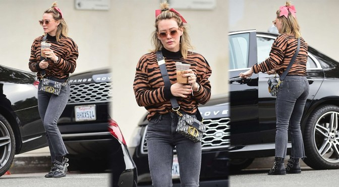 Hilary Duff – Sexy Candids at Joans On Third in Los Agneles