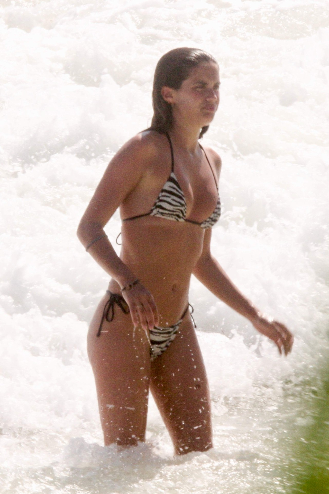 Sara Sampaio Small Sexy Bikini