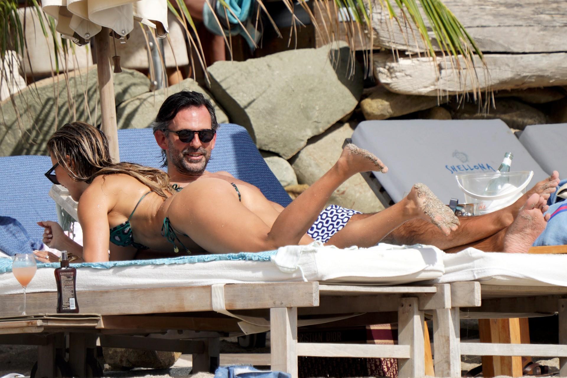 Sylvie Meiss Sexy Ass In Bikini