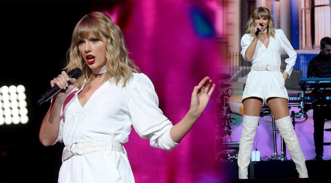 Taylor Swift – Sexy Legs at Capital FM Jingle Bell Ball in London