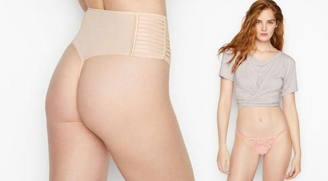 Alexina Graham – Sexy Body in Skimpy Victoria's Secret Lingerie