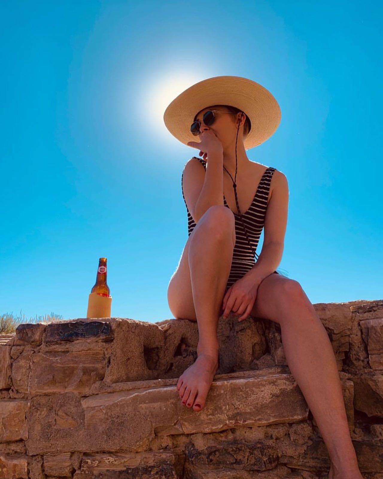 Annasophia Robb In A Swimsuit