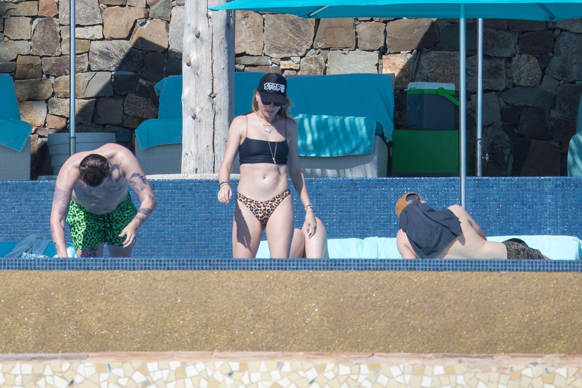 Behati Prinslo Thong Bikini