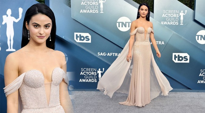 Camila Mendes – 26th Annual Screen Actors Guild Awards in Los Angeles
