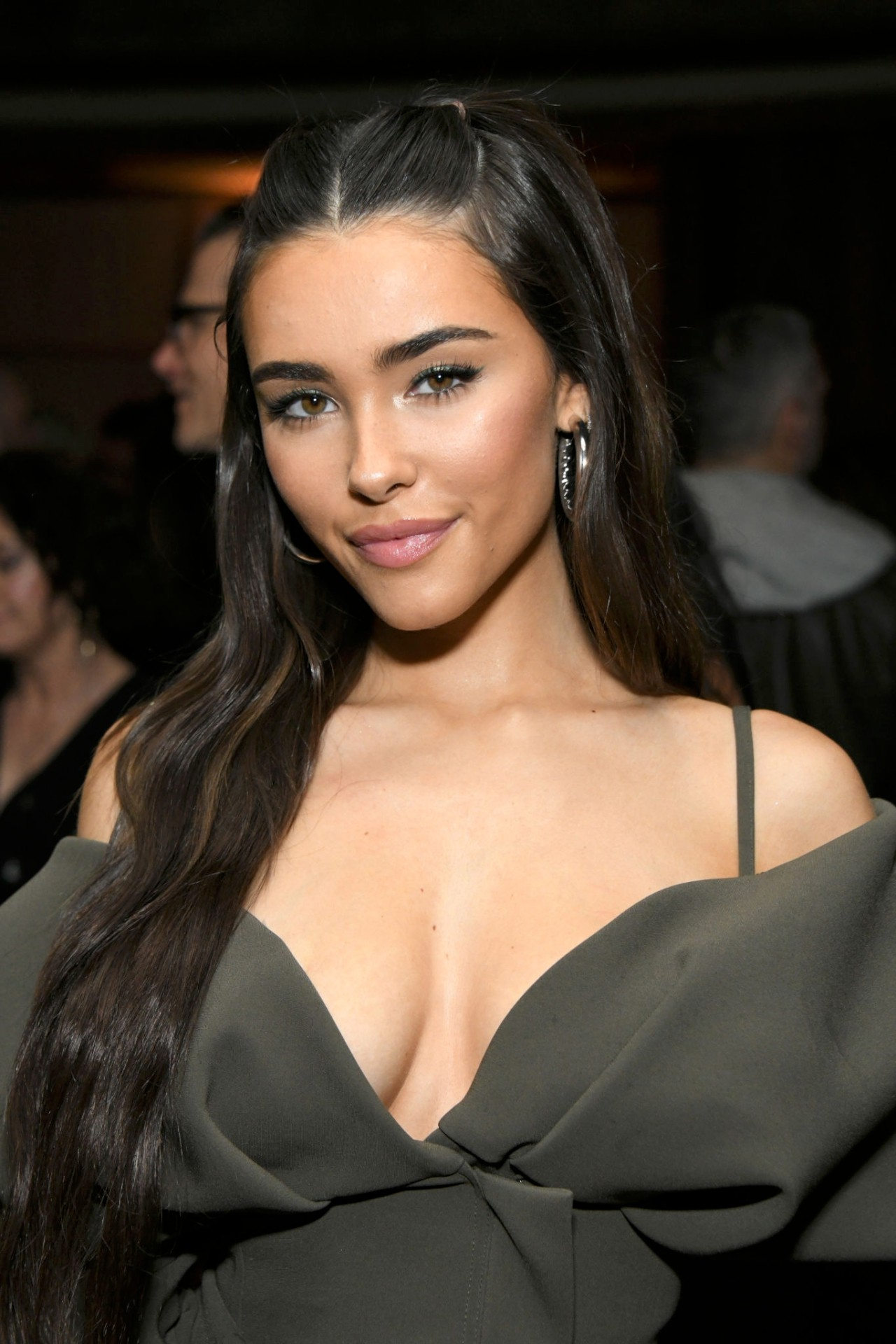 Madison Beer - Big Cleavage And Sexy Legs At Republic Records Grammy After Party In -2056
