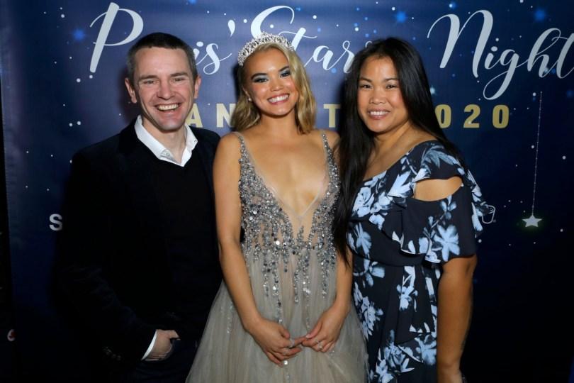 Paris Berelc Sexy Revealing Dress