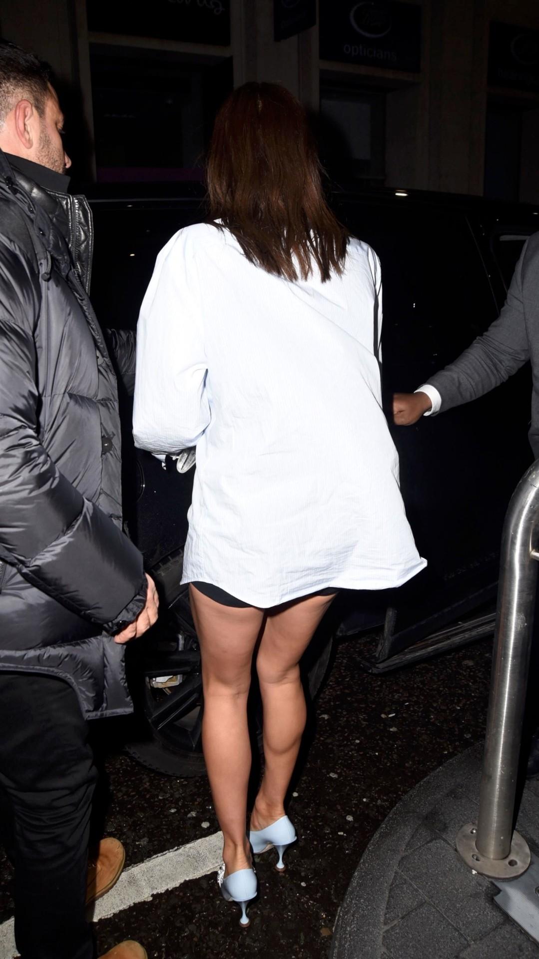Irina Shayk Hot Ass In Shorts