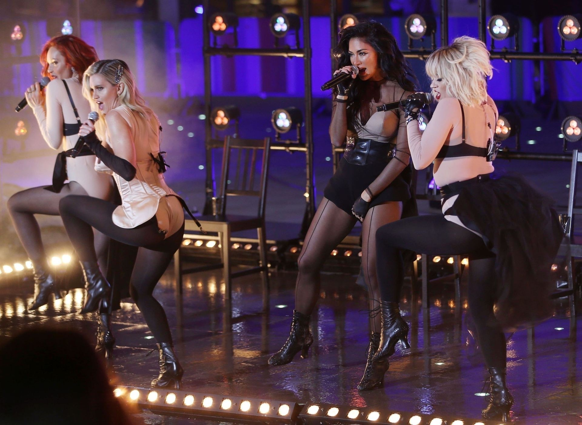The Pussycat Dolls Sexy On Stage