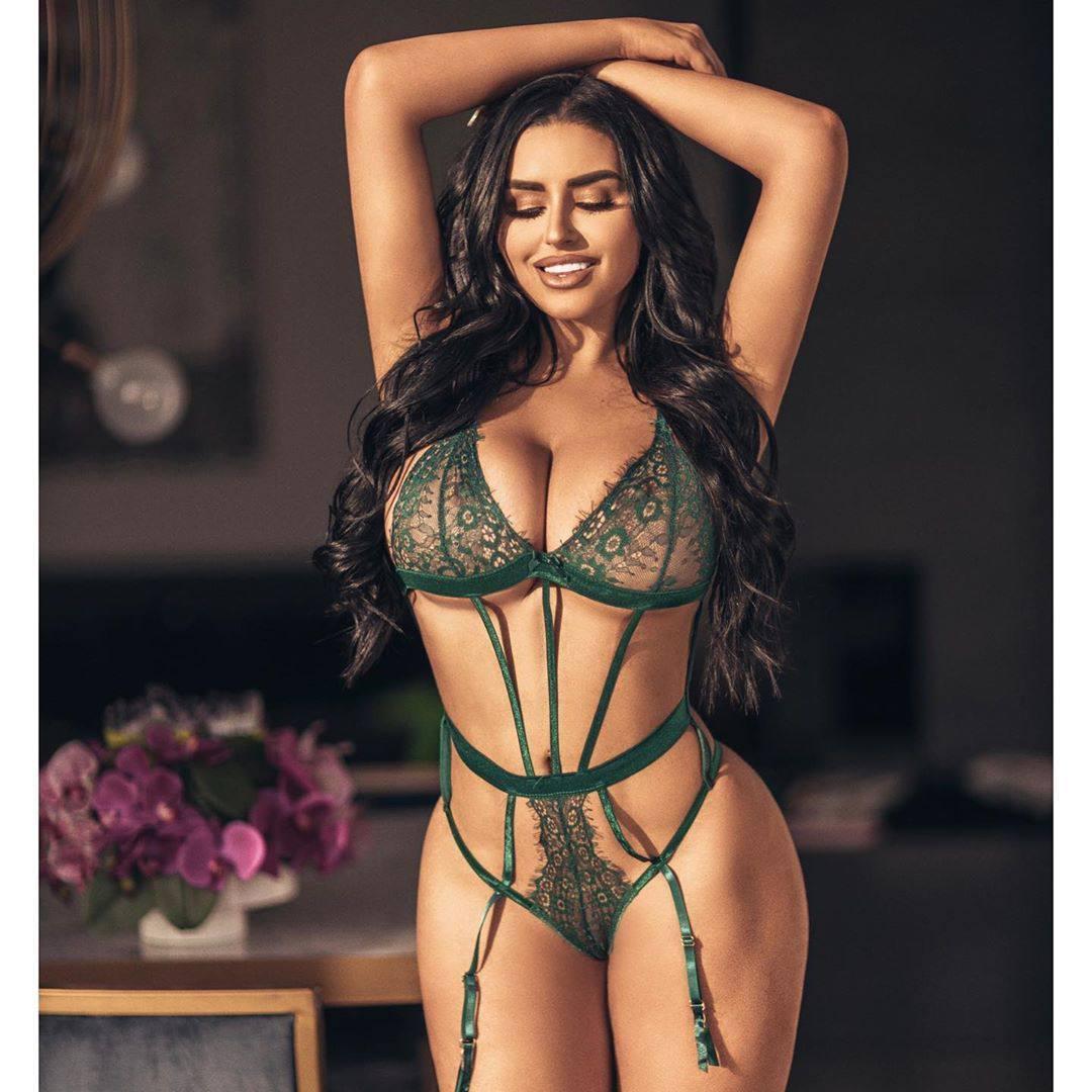 Abigail Ratchford Sexy Lingerie