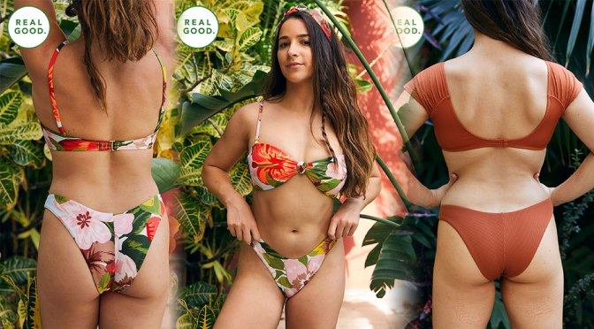 Aly Raisman – Beautiful Natural Body in Aerie's Real Good Swimsuit Collection (March 2020)