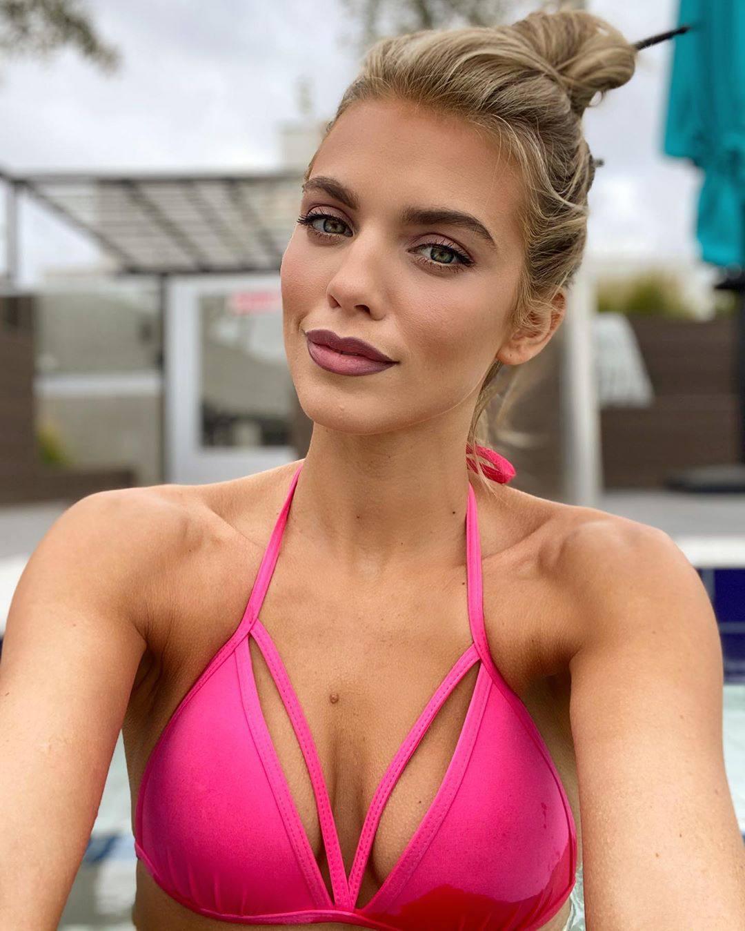 Annalynne Mccord Sexy Bikini Boobs