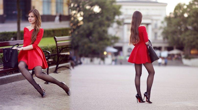 Ariadna Majewska Sexy Black Thighs